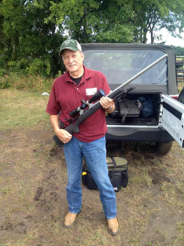 Jim with his new 6.5x47 Lapua