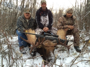 Nice moose Paddy shot with his 7mag at 670 yards