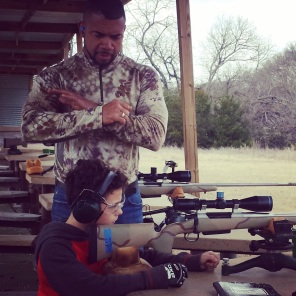 Teaching the next generation of trigger pullers.