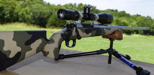 McMillan Gamescout stock, molded camo