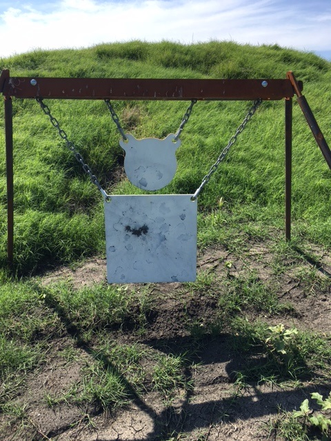 500 yards group on cold bore